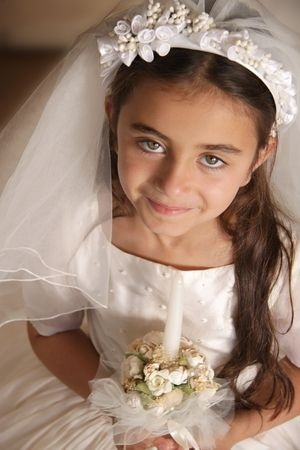 First Communion Girl